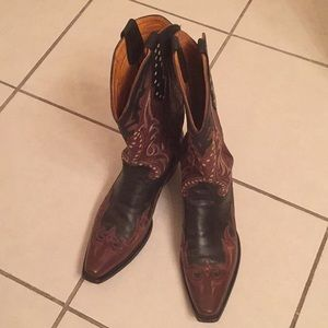 Old Gringo western cowboy boots 9.5D rare